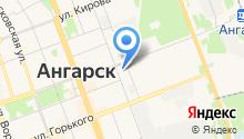 Ангарская городская типография на карте