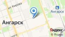 Центр ЗМЗ-Ангарск на карте