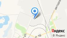 Бетон38 на карте