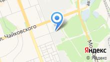 Автосервис на Зелёной на карте