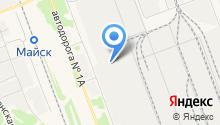 Ангарскнефтехимремстрой на карте