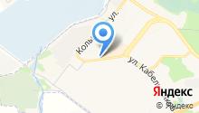 Магазин автозапчастей на ул. 4-й микрорайон на карте