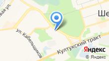 Иркутский техникум архитектуры и строительства на карте
