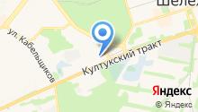 Сибирские окна+ на карте