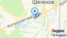 Трактовая на карте