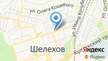 Центр занятости населения г. Шелехова на карте