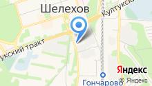 ГИБДД, Отдел МВД России по Шелеховскому району на карте