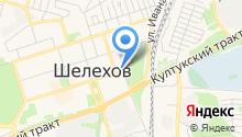 Шелеховская центральная районная больница на карте