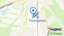 Карпов на карте