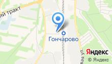 Большой луг на карте