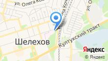 Шелеховский областной противотуберкулезный диспансер, ОГБУЗ на карте