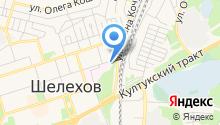 Шелеховский областной противотуберкулезный диспансер на карте