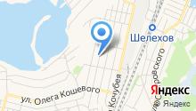 Комплексный центр социального обслуживания Иркутского и Шелеховского районов на карте