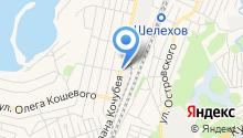 Шелеховские тепловые сети, МУП на карте