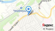 Иркутский хлеб, ЗАО на карте