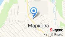 Администрация Марковского муниципального образования Иркутской области на карте