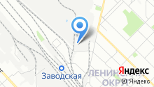 Караван АТП на карте