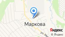 Сибирская нива на карте
