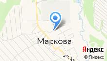 Школьник на карте
