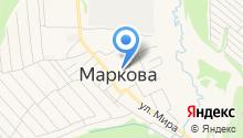 СОЦИАЛЬНО-КУЛЬТУРНЫЙ ЦЕНТР МАРКОВСКОГО МУНИЦИПАЛЬНОГО ОБРАЗОВАНИЯ, МУК на карте