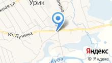 Администрация Уриковского муниципального образования Иркутской области на карте