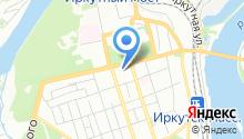 Иркутский информационно-вычислительный центр на карте