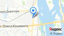 Ливиофан на карте