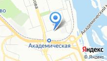 EST на карте