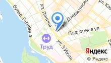 Иркутский областной Театр Юного Зрителя им. А. Вампилова на карте