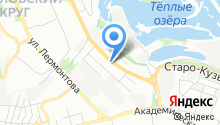 Автосервис Байкал на карте