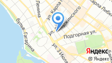 Главное Управление МЧС России по Иркутской области на карте