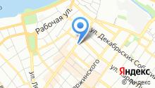 Альдента на карте