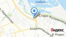 Кузьмиха на карте