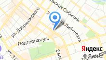 GCFit на карте