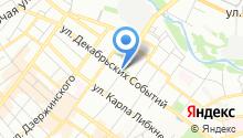 Информационно-туристская служба г. Иркутска, МКУ на карте
