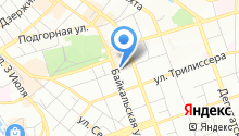 Favorite на карте