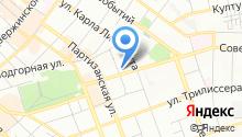 GANT на карте