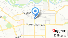 Байкал-экспресс на карте
