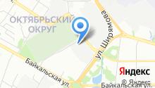 Блюзмобиль Иркутск на карте