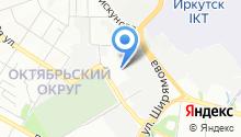 МЦ-Иркутск на карте