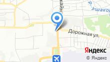 Территория А на карте
