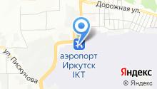 Иркутская региональная поисково-спасательная база на карте