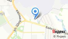 Специализированная пожарная часть ГУ ФПС по Иркутской области на карте