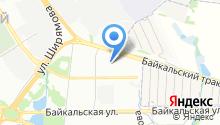 Аварийно-спасательная служба Иркутской области на карте