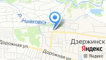 Администрация Дзержинского муниципального образования на карте