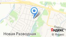 Служба по откачке выгребных ям на карте