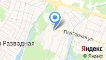 Белореченское, ПАО на карте