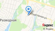 Академический на карте