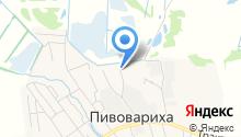Фоэт-М на карте