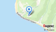 Байкал на карте